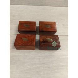 "SMALL WOODEN BOX 3""X2""..."