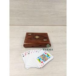 "SINGLE CARD BOX W/CARDS 4X3"""