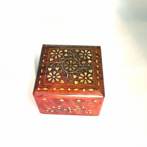 BOX B/INLAID  4X4X3""