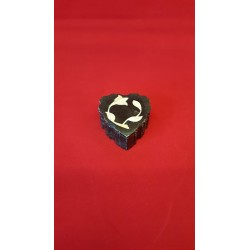 """SIDE CUTTIN BLACK HEART  2x3"""""""