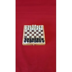 "Soapstone Carved Chess Set 6""x 6"""