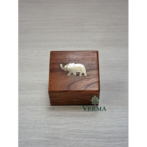 "Small  Elephant box 3""x3"""